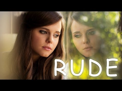 Rude  MAGIC! Girl Version Acoustic   Tiffany Alvord on iTunes &