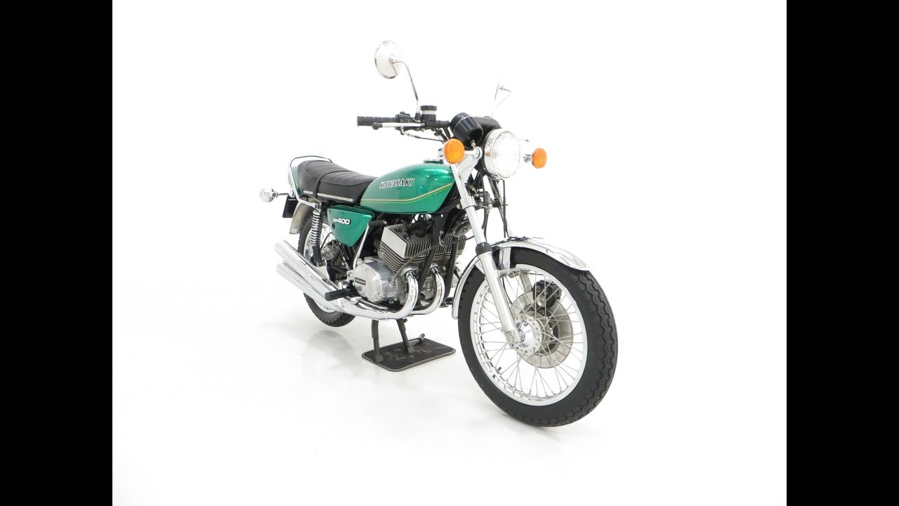 An unrepeatable Kawasaki KH400-A4 Triple with only 348