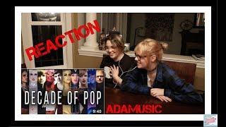 REACTING TO ADAMUSIC | DECADE OF POP