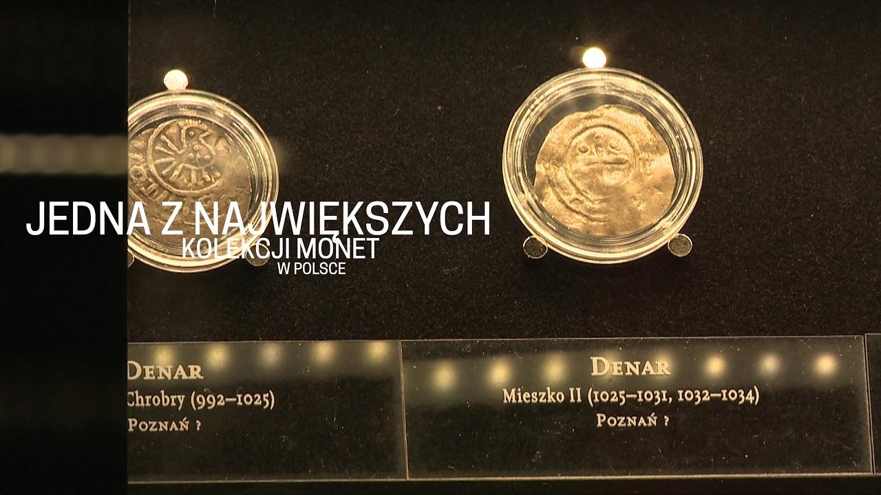 Bogata kolekcja historycznych monet