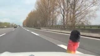 Linumer Bruch bis Dorngrund A24 Deutschland BRD 28.4.2016