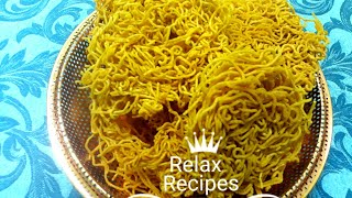 ஓமப்பொடி / Plain Sev / Omapodi in Tamil