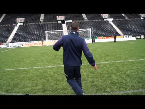 Chris Paterson's Rugby (football) Park Challenge!