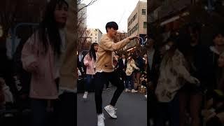2018.2.18&걷고싶은거리&홍대&공차앞&여성댄스팀&Diana(오대표)&by큰별