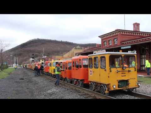 Speeders, NARCOA, Motorcar Hobby, Tamaqua Railroad Train Station, Tamaqua, 4-1-2017