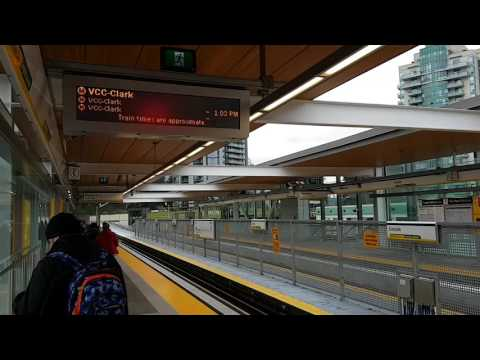 Evergreen Line Train Departing Lincoln Station