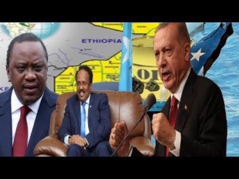 Warar Deg Deg Ah Turkiga Oo Ka Hiiliyey Kenya Tageerayna Somalia,Jawabta S/Land