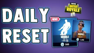 FORTNITE DAILY SKIN RESET - BRAND NEW EMOTE!! Fortnite Battle Royale NEW Daily Items in Item Shop