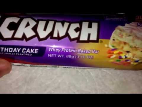 Chef Robert Irvine FortiFX Birthday Cake Fit Crunch Bar Review
