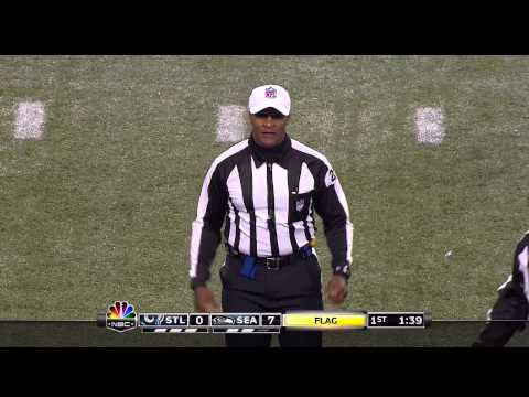 Seattle Seahawks - Ref Changes Call Because of 12th Man at Quest (CenturyLink) Field