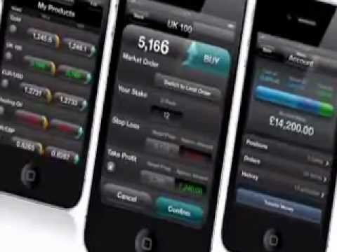 Spread Trading in Ireland: iPhone Trading