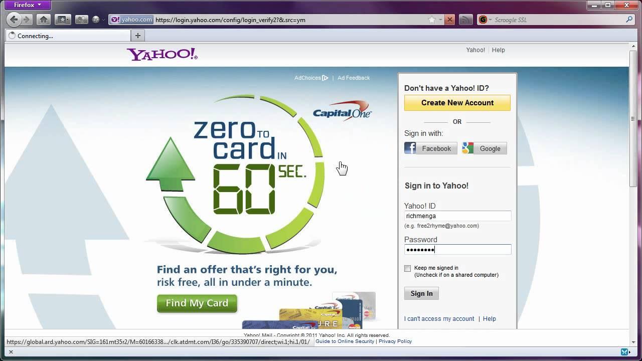 Yahoo com f