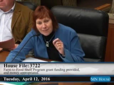 House Agriculture Finance Committee  4/12/16