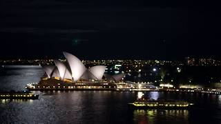 [Sydney night on Sydney Habour…