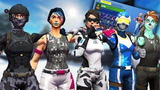 WHY DO I BUY ALL FORTNITE SKINS REALLY?!?!