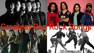 Top 25 Greatest Rap Rock Songs Of All Time