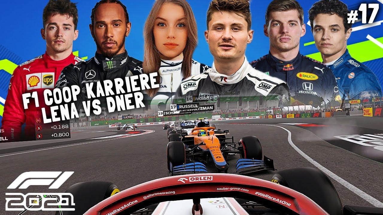 Download Schaut nur bis Minute 10! Danach bei Lena. 😅 | F1 2021 Koop Karriere #17 | Lena & Dner