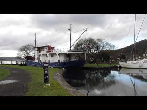 Clyde harbour basin. Scotland.