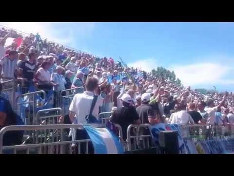 Tennis Davis Cup Pesaro 2016 day 2 Argentina Fans