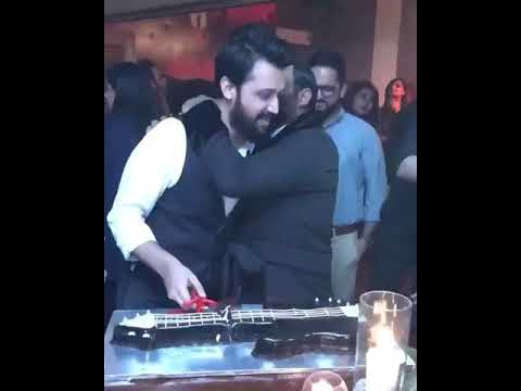 Atif Aslam birthday party celebration With Sara, close Friends n Family..