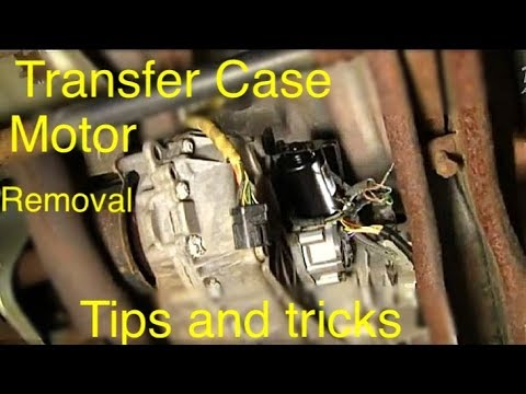 Ford F-150 Transfer Case Motor replacement + diagnostics - YouTube