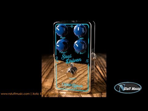 Xotic Effects Soul Driven Overdrive Pedal - In-Depth Review!
