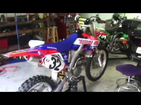 Honda Of Seattle >> Crf 250 lucas oil / kx 125 bike walk around - YouTube