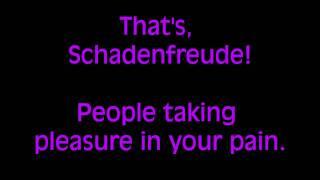 Schadenfreude Lyrics (Avenue Q) - Explict