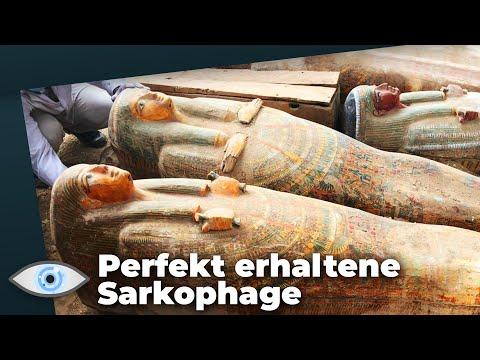 Sensationsfund in Ägypten: 3.000 Jahre alte Särge direkt unter der Erdoberfläche!