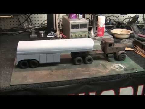 Building The Duel Truck Pt 2 - Scratch Building The Tanker T