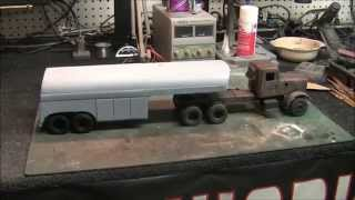 Building The Duel Truck Pt 2 - Scratch Building The Tanker Trailer