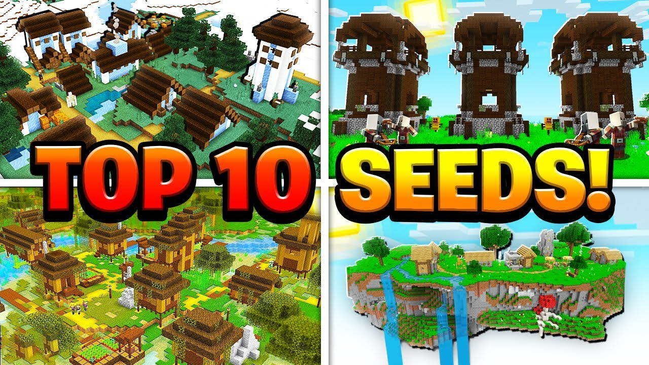 Top 10 Seeds For Minecraft Pocket Edition Ps4 Xbox Switch Pc Youtube