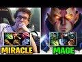 MIRACLE vs MAGE & NO[O]NE: THROW OR COMEBACK??? Dota 2 7.17