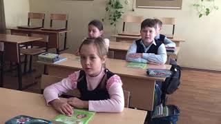 3 В ...перед началом урока ))