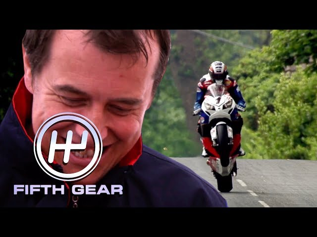 A day in the life of TT legend John McGuinness | Fifth Gear Classic