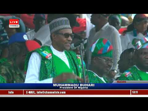 APC Presidential Campaign: Buhari Leads Train To Oyo Pt.6 |Live Event|