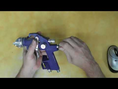 Harbor Freight 64 oz. Professional HVLP Air Spray Gun Kit Review Item 62895
