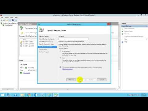 Backup And Restore Mailbox In Exchange 2016