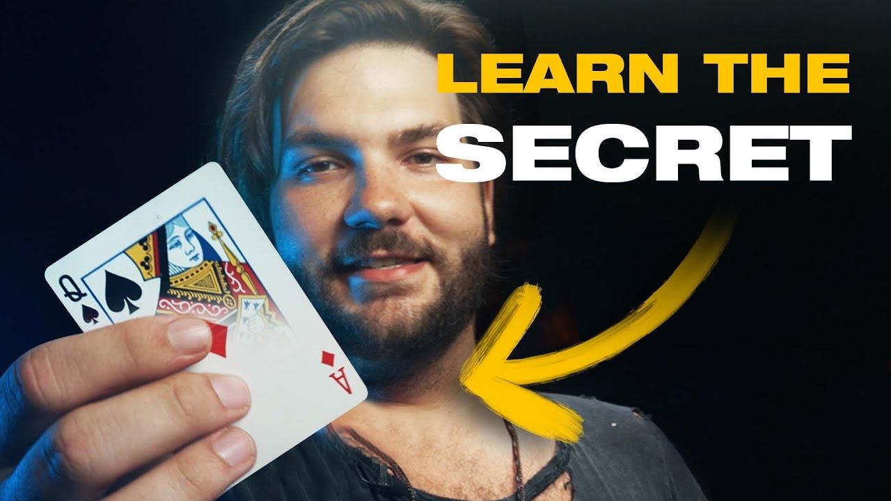 TV Magician Reveals his SECRETS (Card Trick TUTORIAL)