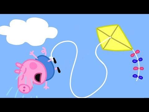 Peppa Wutz | Einen Drachen fliegen, George! | Peppa Pig Wutz | Cartoons für Kinder