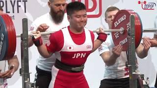 Men SJr, 83-105 kg - World Classic Powerlifting Championships 2019