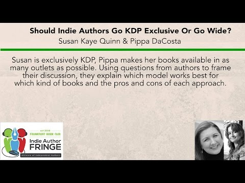 Fringe Highlight: Should Indie Authors Go KDP Exclusive or Go Wide