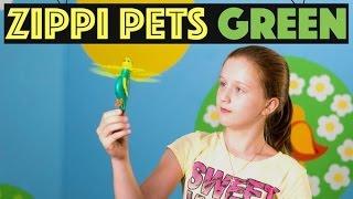 Zippi Pets Green: обзор и распаковка интерактивной игрушки
