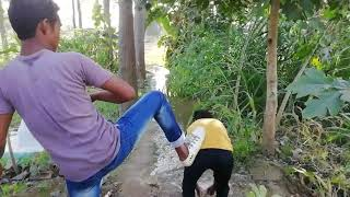 Top nonstop Funny vines comedy videos village boys try to not laugh by_ Cpppkb Fun