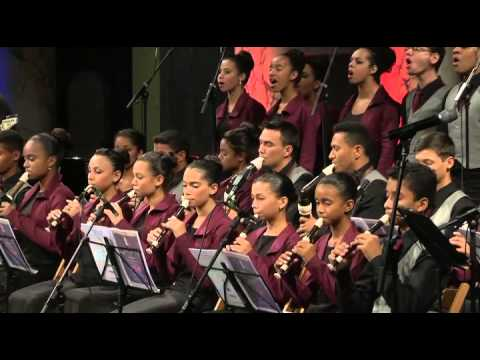 Flauta Mágica: Canção da América Weltmuseum -  Vienn 2014