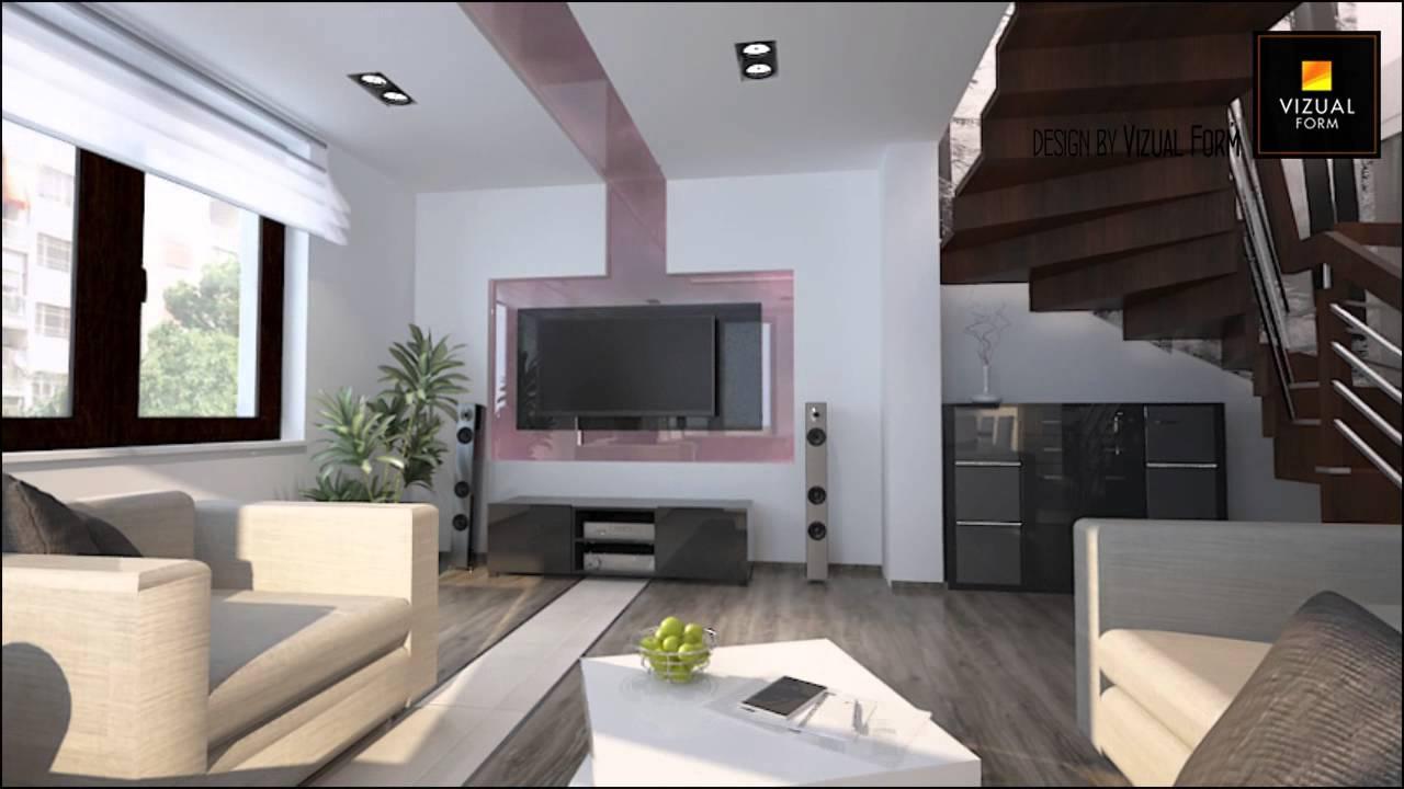 Projekty Wnętrz Kuchni I Salonu W Stylizacji Nowoczesnej Realizacja Vizual Form