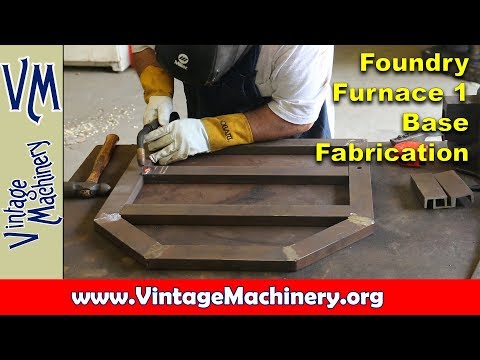 Building an Oil Fired Foundry Furnace - Part 1:  Fabricating the Base