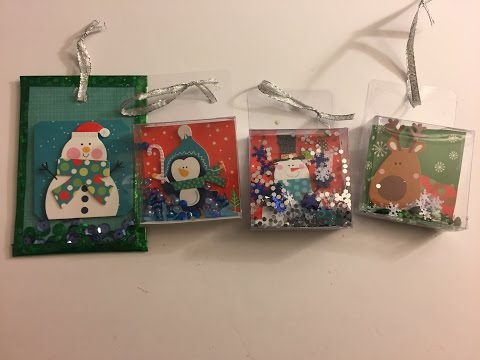 Dollar Tree Ornament Shakers - Made of Packaging