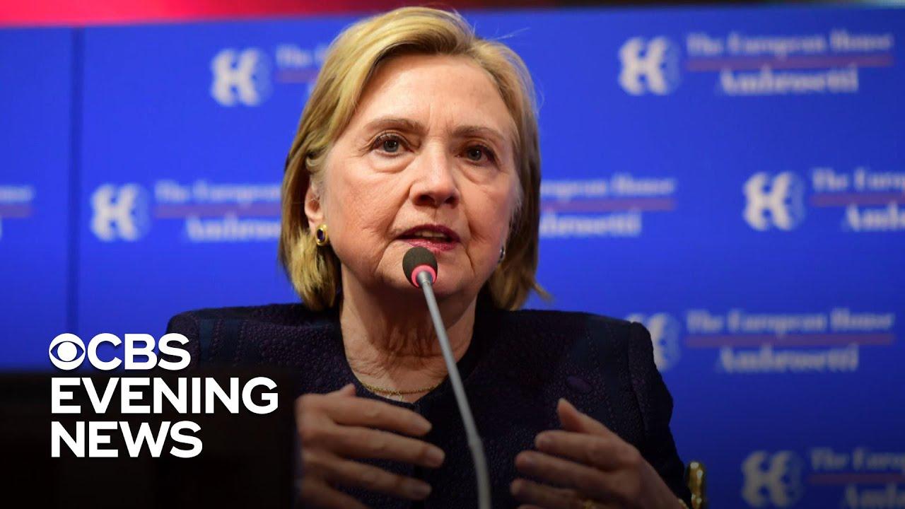 Gabbard sues Hillary Clinton over 'Russian asset' smear