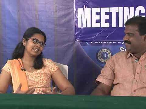 SGC Meeting Point S. Sameera and Dr. Joseph Vettickan, Civil Service Institute Pala (Principal)